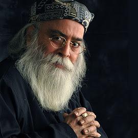Lala Deendyal ji #5 by Rakesh Syal - People Portraits of Men
