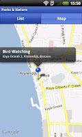 Screenshot of Bonaire App