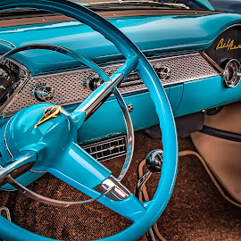 BelAir Interior by Ron Meyers - Transportation Automobiles