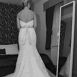 Bride to Be by Asta Philpot - Wedding Bride ( wedding, bride, selective color, pwc )