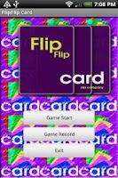Screenshot of FlipFlip Card Lite