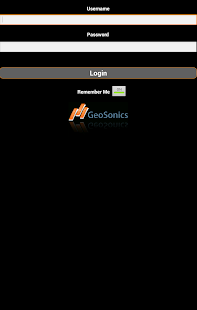 GeoSonics Mobile - screenshot