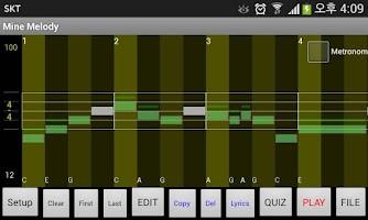 Screenshot of Ezy Melody Maker for Beginners