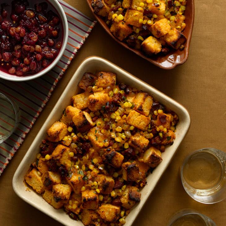 Chorizo Corn Bread Stuffing Recipe | Yummly