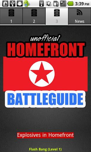 【免費街機App】Homefront Battleguide-APP點子