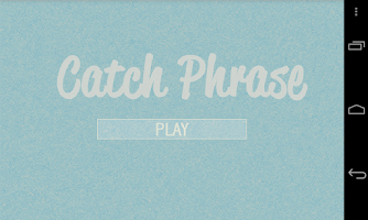 Screenshot of Catch Phrase