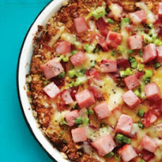 Ham & Green Onion Quiche