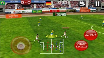 Screenshot of Soccer World 2014