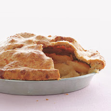 Apple Pie with Cheddar Crust