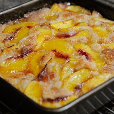 Texas Peach Cobbler