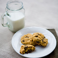 Dark Chocolate Chip Pumpkin Cookies