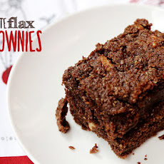 Chocolate Flax Brownies