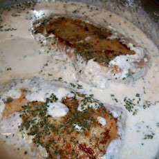 Chicken in Poor Man's Rich Cream Cheese Sauce
