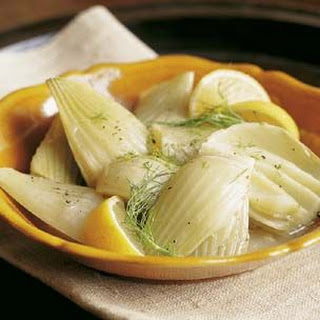 Braised Fennel with Olive Oil and Garlic