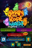 Screenshot of Burn the Rope:Worlds & Friends