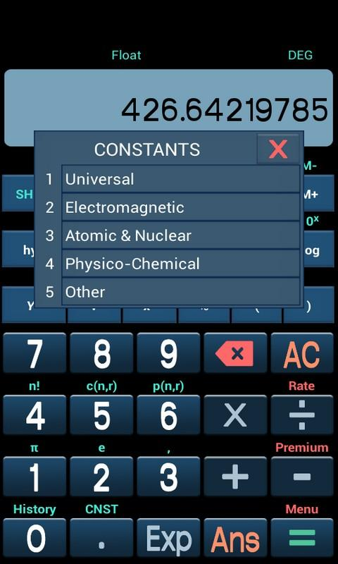 New Scientific Calculator Screenshot 4