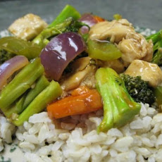 Orange Ginger Chicken and Veggies