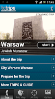 Screenshot of TcTrips Warsaw