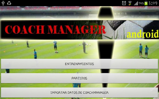 CoachManager management for th