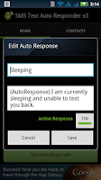 Screenshot of SMS Text Auto Responder FREE