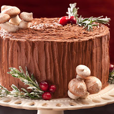 Black Forest Yule Stump Cake Recipe