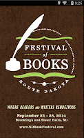 Screenshot of South Dakota Festival of Books