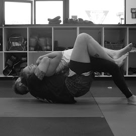 Choke Hold by Paul Hopkins - Sports & Fitness Other Sports