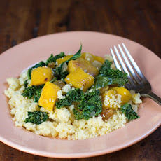 Spiced Couscous with Acorn Squash and Kale