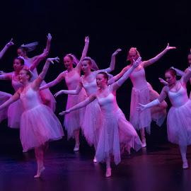 Purple dream by Vibeke Friis - People Musicians & Entertainers ( dancers, preformes, royal theatre, ballet, stage show, creativity, lighting, art, artistic, purple, mood factory, lights, color, fun,  )