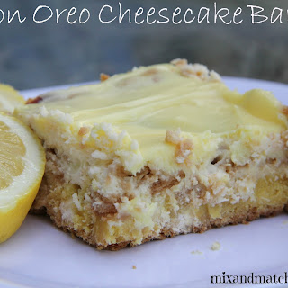 Lemon Oreo Cheesecake