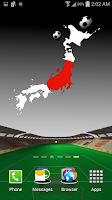 Screenshot of Japan Football Wallpaper