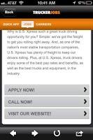 Screenshot of Trucker JOBS