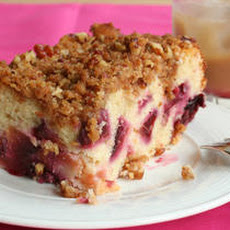 Plum Buckle with Pecan Topping Recipe
