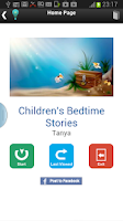 Screenshot of Children's Bedtime Stories