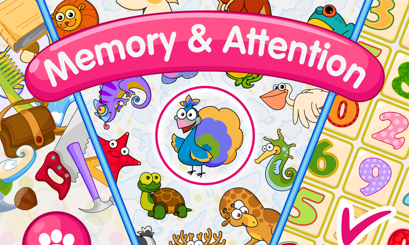 Memory games for kids 4 years Screenshot 0