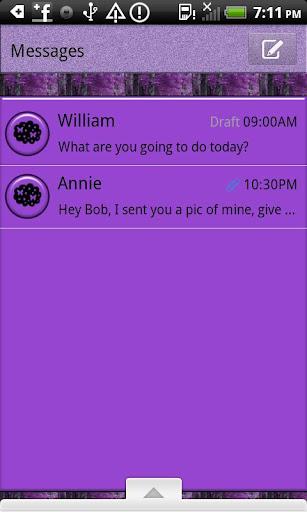 GO SMS THEME MysticLane