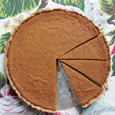 Maple-Pumpkin Tart