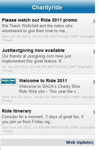 SACA CharityBikeride