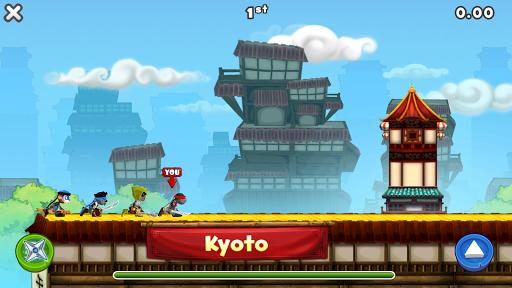 NinJump Dash: Multiplayer Race - screenshot