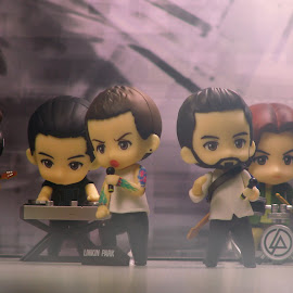 Linkin Park by Iqbal Musthapa - Artistic Objects Toys