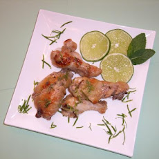 Mint Mojito Chicken Wings