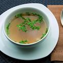 Klare Suppen und Suppeneinlage