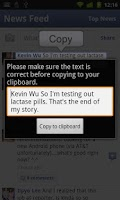 Screenshot of Copy Paste It Trial