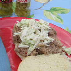 Slow Cooker Carolina BBQ