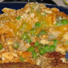 Super Rich Pea Casserole