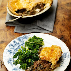 Old-school Venison Pie With Juniper, Rosemary & Bay