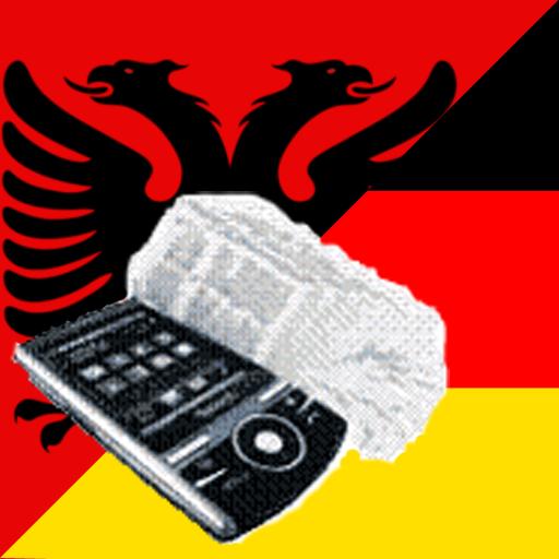 Albanian German Dictionary