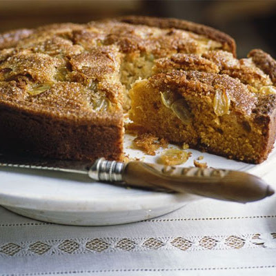 Citrus Grape Cake