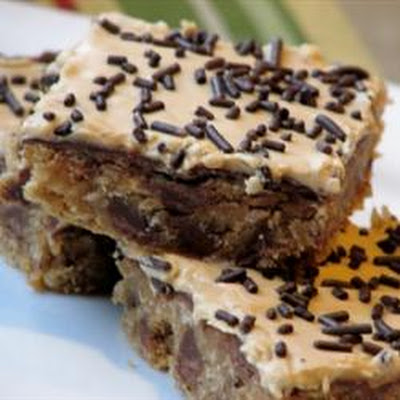 Monkey Peanut Butter Bars