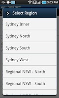 Screenshot of NSW Traffic
